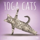 Yoga Cats 2020 Square Wall Calendar - Book