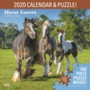 Horse Lovers Puzzle Set 2020 Square Wall Calendar - Book