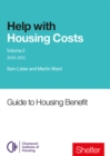 Help With Housings Costs: Volume 2 : Guide to Housing Benefit, 2020-21 - Book