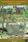 My First Proper Rural Murder - Book