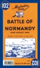 Battle of Normandy - Michelin Historical Map 102 : Map - Book