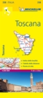 Toscana - Michelin Local Map 358 - Book