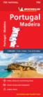 Portugal & Madeira - Michelin National Map 733 : Map - Book