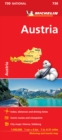 Austria - Michelin National Map 730 : Map - Book