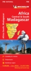 Africa Cental & South, Madagascar - Michelin National Map 746 : Map - Book