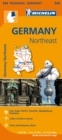 Germany Northeast - Michelin Regional Map 542 : Map - Book