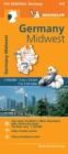 Germany Midwest - Michelin Regional Map 543 : Map - Book
