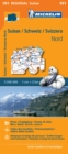 Suisse Nord - Michelin Regional Map 551 : Map - Book