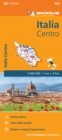 Italy Centre - Michelin Regional Map 563 : Map - Book
