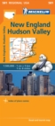 New England, Hudson Valley - Michelin Regional Map 581 : Map - Book