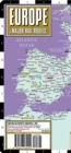 Streetwise Europe & Major Rail Routes Laminated Map - Book