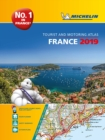 France 2019 -A4 Tourist & Motoring Atlas : Tourist & Motoring Atlas A4 spiral - Book