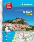 France 2019 -Tourist & Motoring Atlas A4 Laminated Spiral : Tourist & Motoring Atlas A4 spiral - Book