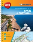 Spain & Portugal 2019 - Tourist and Motoring Atlas (A4-Spirale) : Tourist & Motoring Atlas A4 spiral - Book
