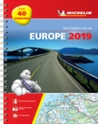 Europe 2019 - Tourist and Motoring Atlas (A4-Spirale) : Tourist & Motoring Atlas A4 spiral - Book
