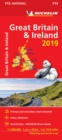 Great Britain & Ireland 2019 - Michelin National Map 713 : Map - Book