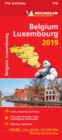Belgium & Luxembourg 2019 - Michelin National Map 716 : Map - Book