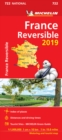 France - reversible 2019 - Michelin National Map 722 : Map - Book