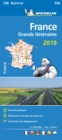 France Route Planning 2019 - Michelin National Map 726 : Map - Book