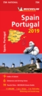 Spain & Portugal 2019 - Michelin National Map 734 : Map - Book