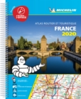 France 2020 -Tourist & Motoring Atlas A4 Laminated Spiral : Tourist & Motoring Atlas - Book