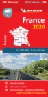 France 2020 - High Resistance National Map 792 : Map - Book