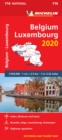 Belgium & Luxembourg 2020 - Michelin National Map 716 : Map - Book