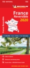 France - reversible 2020 - Michelin National Map 722 : Map - Book