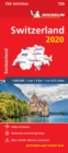 Switzerland 2020 - Michelin National Map 729 : Map - Book