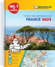 France 2021 -A4 Tourist & Motoring Atlas : Tourist & Motoring Atlas A4 spiral - Book