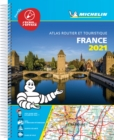 France 2021 -Tourist & Motoring Atlas A4 Laminated Spiral : Tourist & Motoring Atlas A4 spiral - Book