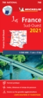 Southwestern France 2021 - Michelin National Map 708 : Maps - Book