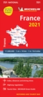 France 2021 - Michelin National Map 721 : Maps - Book