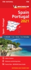 Spain & Portugal 2021 - Michelin National Map 734 : Maps - Book