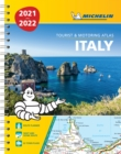 Italy 2021 / 2022 - Tourist and Motoring Atlas (A4-Spiral) : Tourist & Motoring Atlas A4 spiral - Book