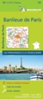 BANLIEUE DE PARIS 2021 (Outskirts of Paris) - Michelin Zoom Map 101 : Map - Book