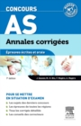 Annales corrigees Concours AS - eBook