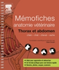 Memofiches anatomie veterinaire - Thorax et abdomen - eBook