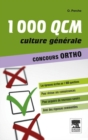 1000 QCM Culture generale Concours Ortho - eBook