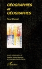 Geographies et geographes - eBook