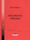 Miscellanea litteraires - eBook