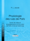 Physiologie des Rues de Paris - eBook