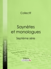 Saynetes et monologues : Septieme serie - eBook