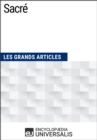 Sacre : Les Grands Articles d'Universalis - eBook