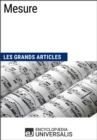 Mesure : Les Grands Articles d'Universalis - eBook
