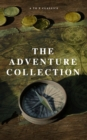 The Adventure Collection: Treasure Island, The Jungle Book, Gulliver's Travels, White Fang, The Merry Adventures of Robin Hood (A to Z Classics) - eBook