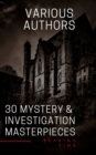 30 Mystery & Investigation masterpieces - eBook
