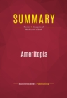 Summary: Ameritopia : Review and Analysis of Mark Levin's Book - eBook