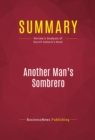 Summary: Another Man's Sombrero : Review and Analysis of Darrell Ankarlo's Book - eBook