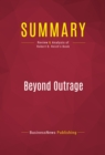 Summary: Beyond Outrage : Review and Analysis of Robert B. Reich's Book - eBook